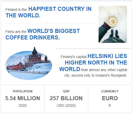Fast Facts of Finland