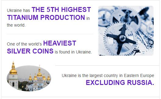Fast Facts of Ukraine