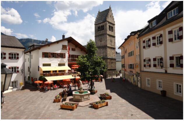 Zell am See-Kaprun attracts tourists all year round